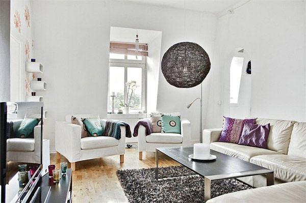 Weich und Stark Living Room Interior Wohnzimmer Innenräume by