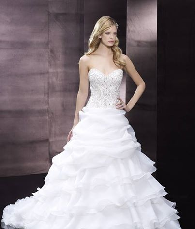At The One Couture, you design your dream wedding gown without breaking your budget.   Send us an email at ido@theonecouture.com with your favorite designs and we will help you create your unique dress.  {Moonlight Couture #weddinggown #theonecouture}
