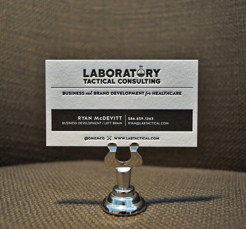 Laboratory tactical consulting pinterest letterpresses business laboratory tactical consulting letterpress business card sale reheart Images