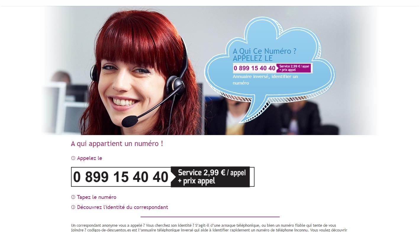 codigos-de-descuentos.es est un annuaire de recherche numero inverse pour  savoir qui est le propriétaire d un numéro de téléphone. 55ca220a8dc0
