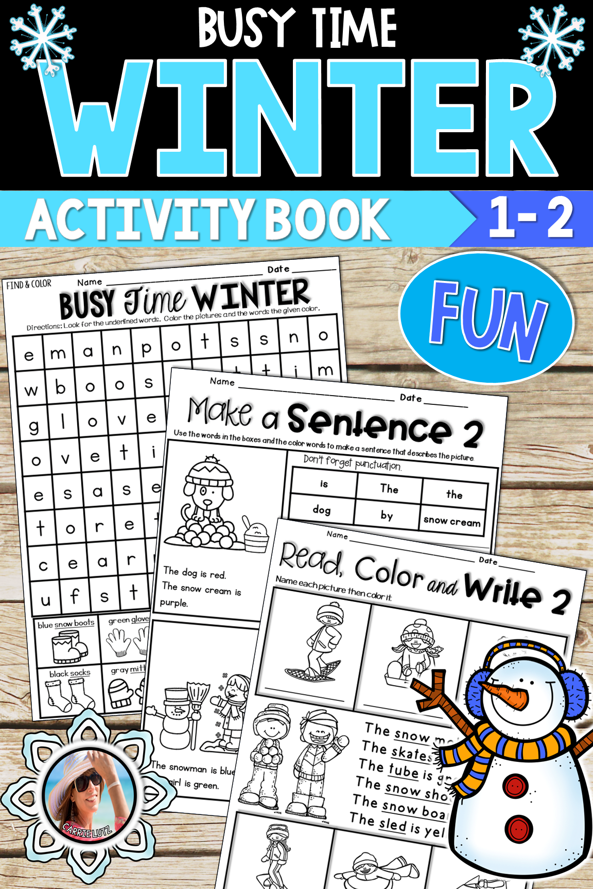 Winter Worksheets A No Prep Winter Activity Packet