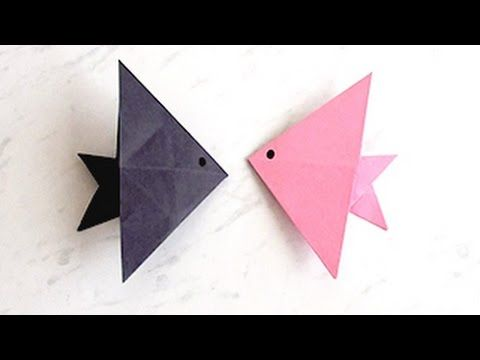 How To Make Paper Fish Creating Paper Fish Paper Art And Craft
