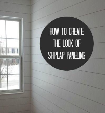 How To Hang Fake Shiplap Paneling Affordable Diy