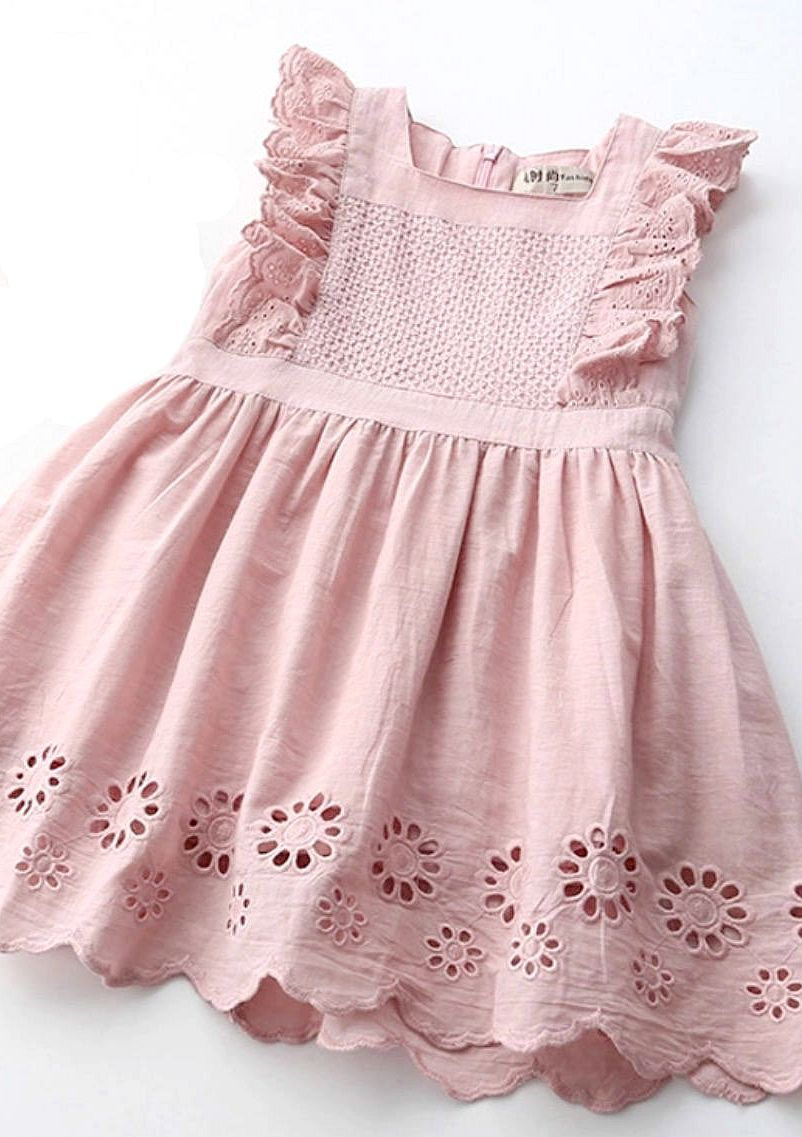 0b67ba647 Cotton Eyelet Dress