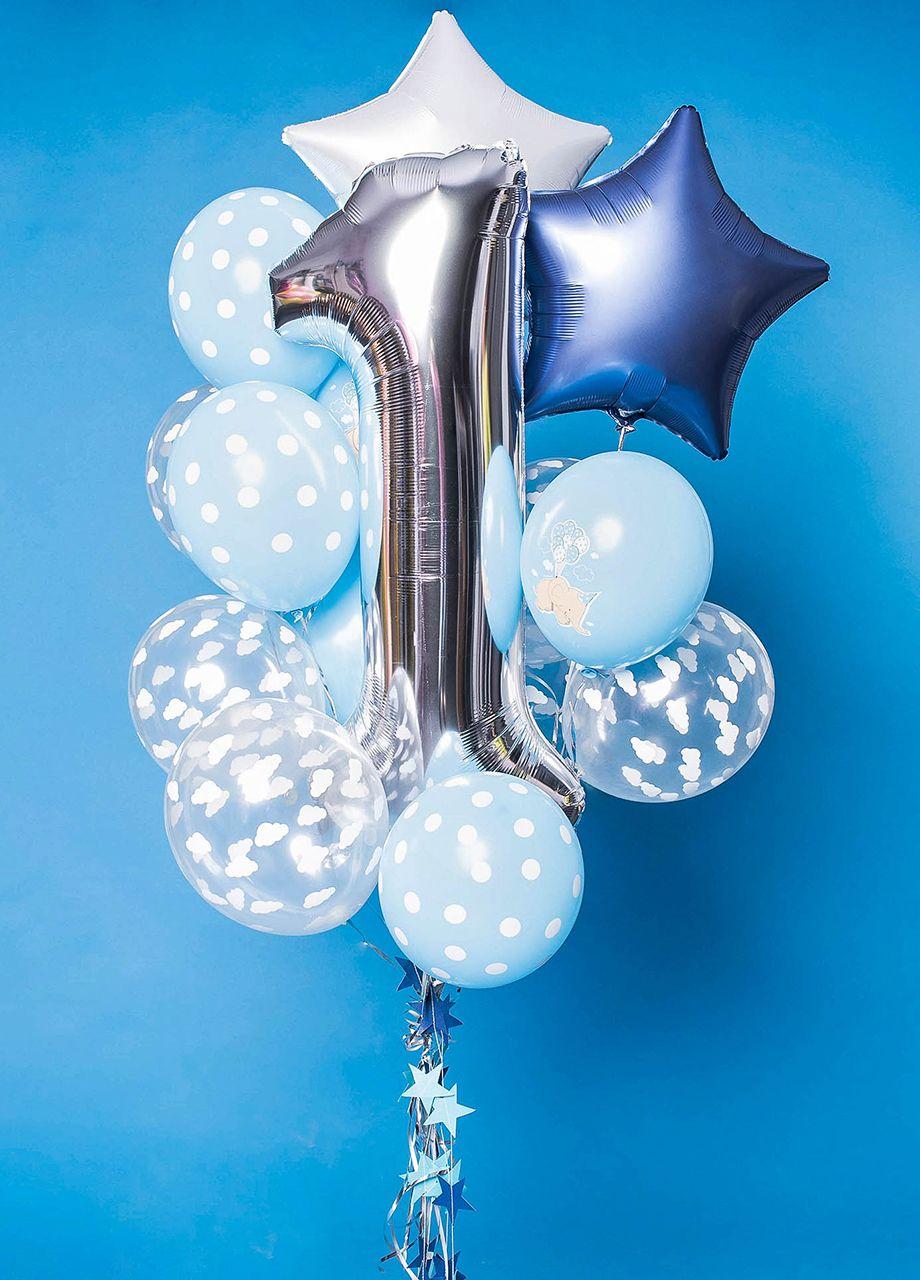 Balony Z Helem Roczek W Chmurach Balony Urodziny Prezent