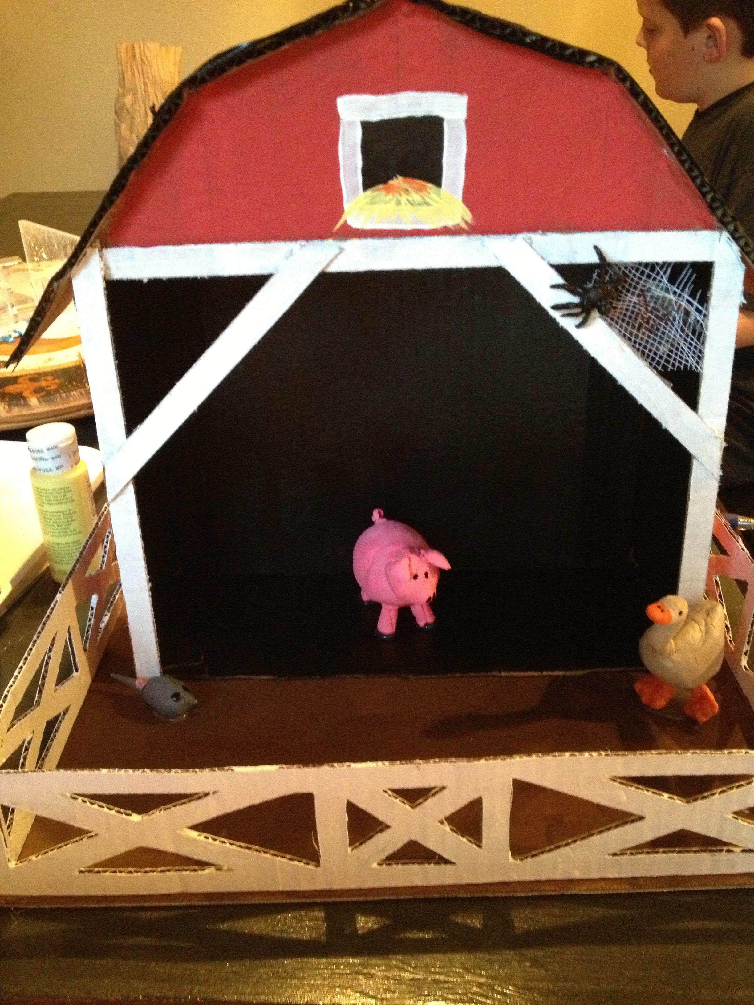 Charlotte\'s Web school project | Crafts | Pinterest | Animales de la ...