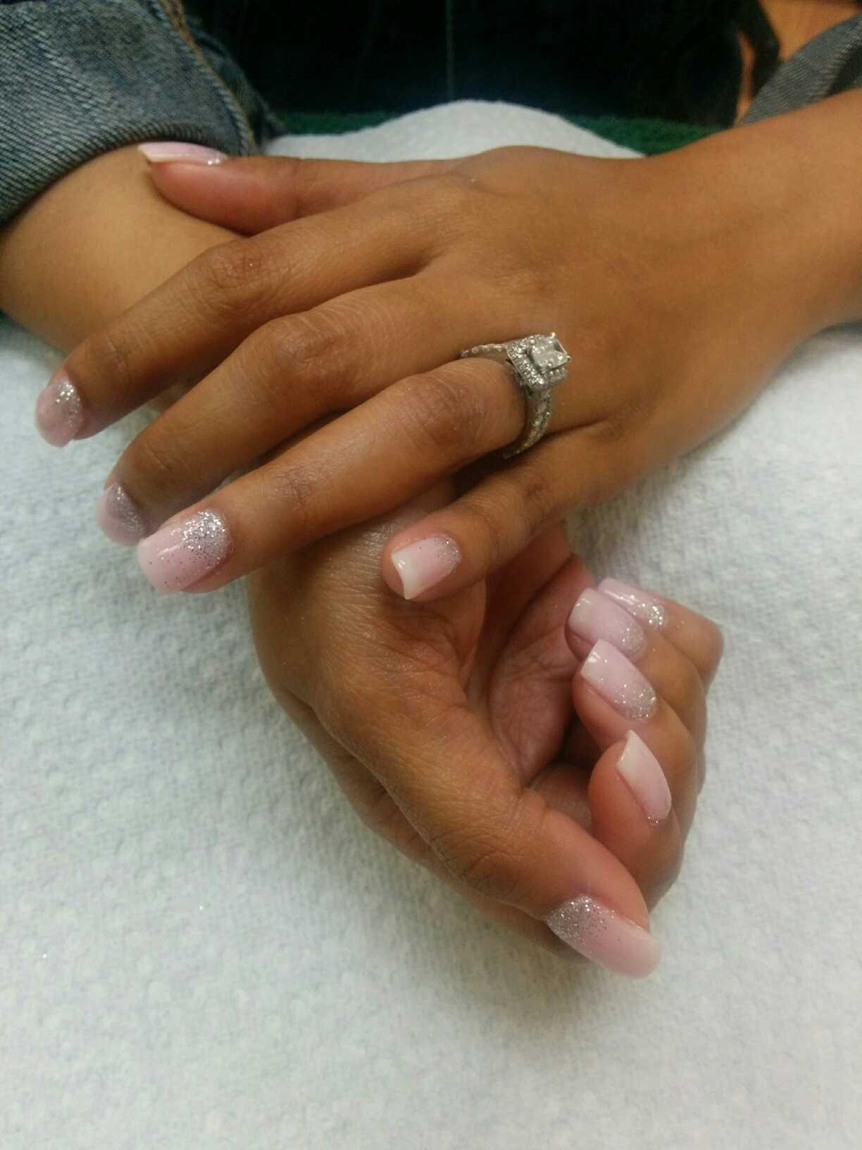 Beautiful ANC nails by Basha | Nail shop, Pretty nails