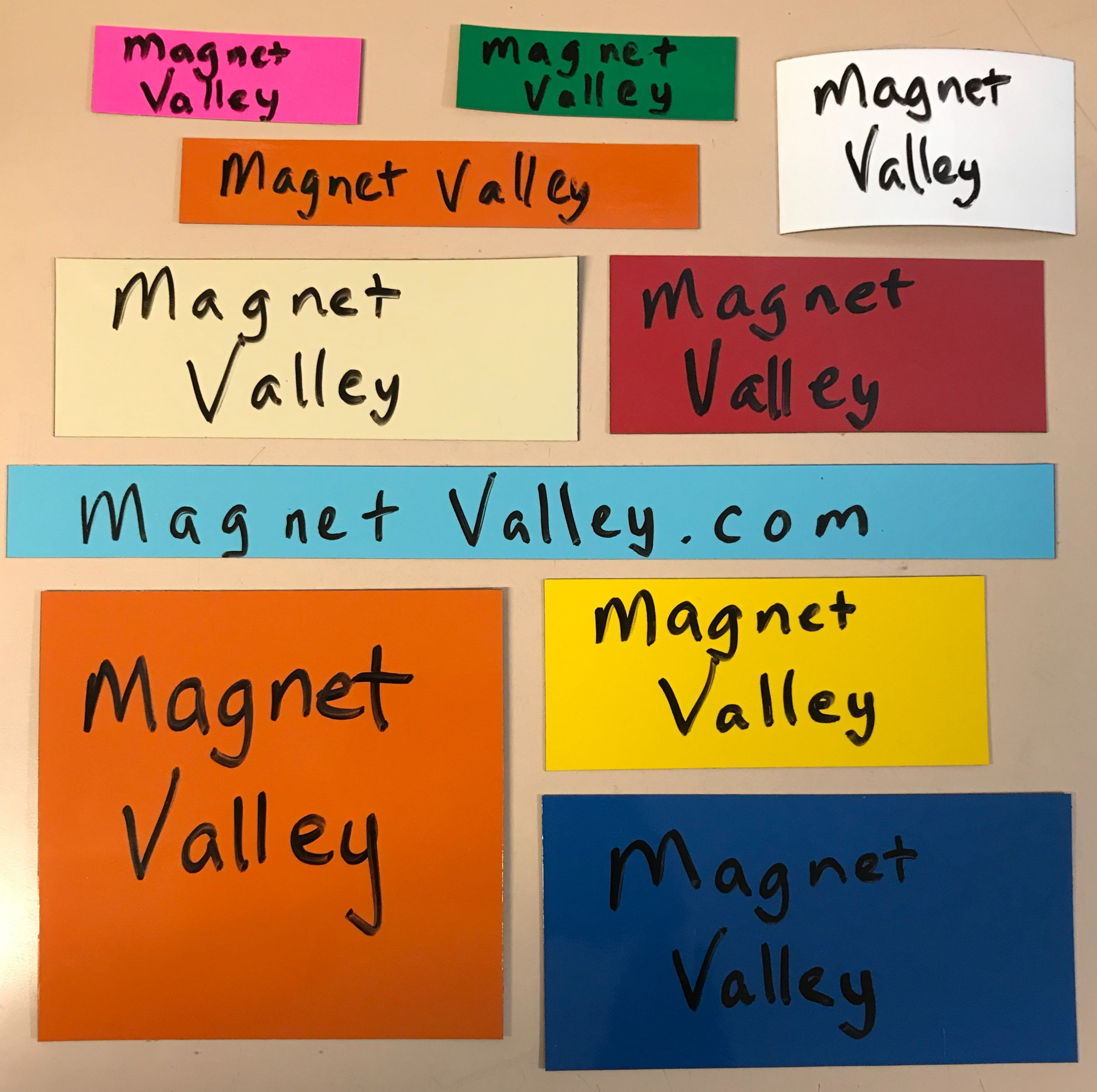 Dry Erase Shelf Labels. Available in many sizes