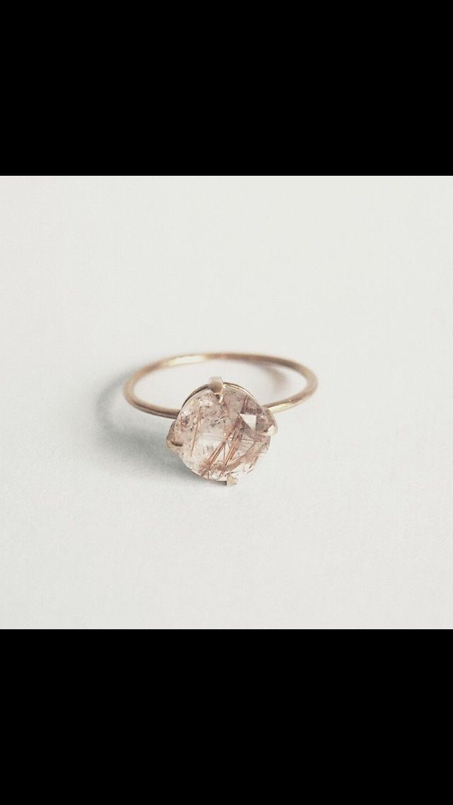 Rutilated Quartz Lace Whim Jewelry Jewels Rings