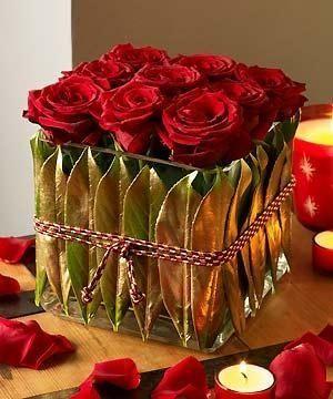red roses red roses pinterest blumen blumen gestecke und dekoration. Black Bedroom Furniture Sets. Home Design Ideas