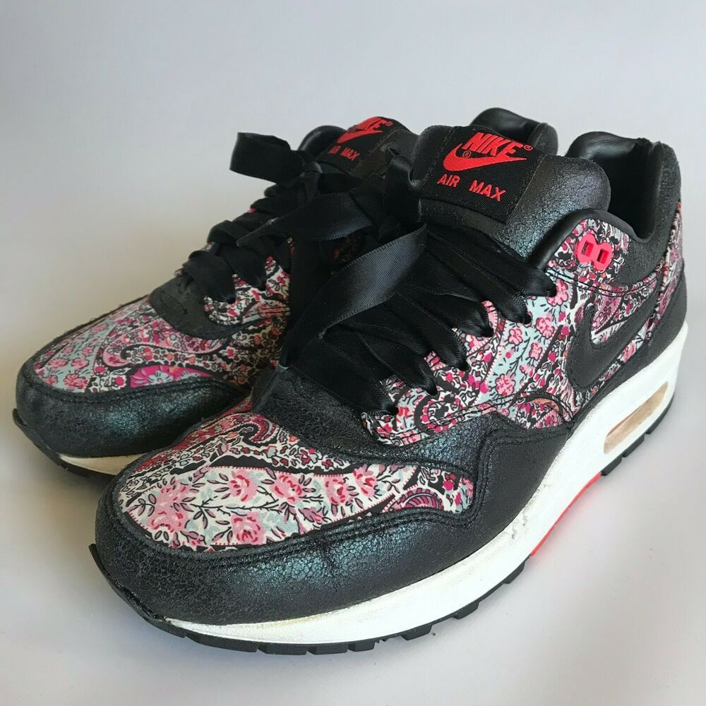 (Sponsored)eBay Nike Air Max 1 Liberty Black Paisley