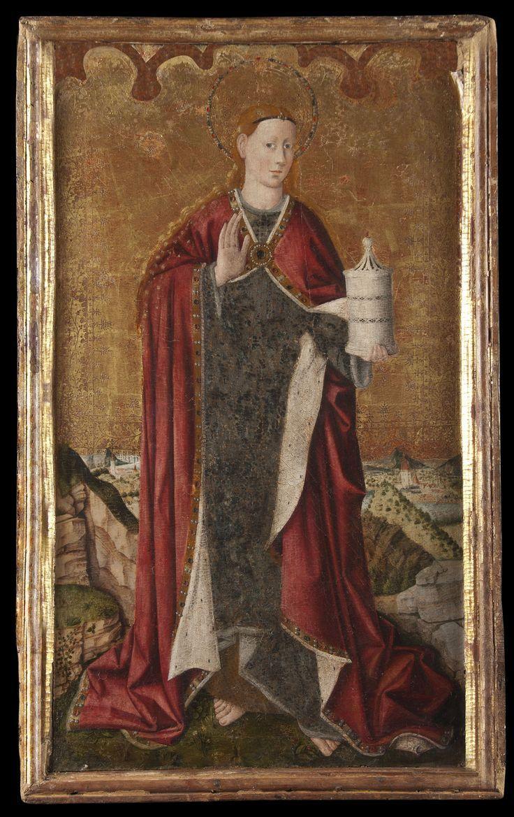 736 1169 Juan Reixac Santa Maria Magdalena Pintura Al Temple