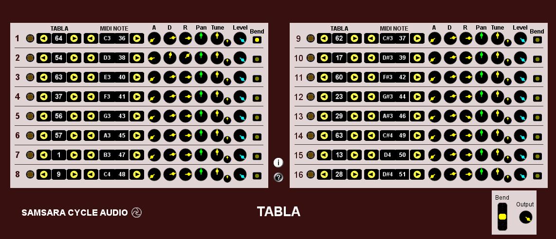 Tabla Indian drum instrument free