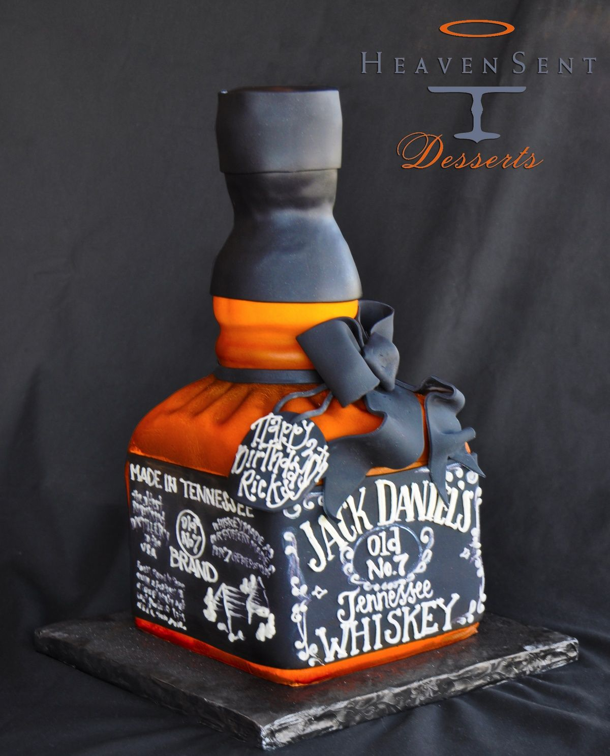 #JackDaniels cake - For all your cake decorating supplies, please visit craftcompany .co.uk