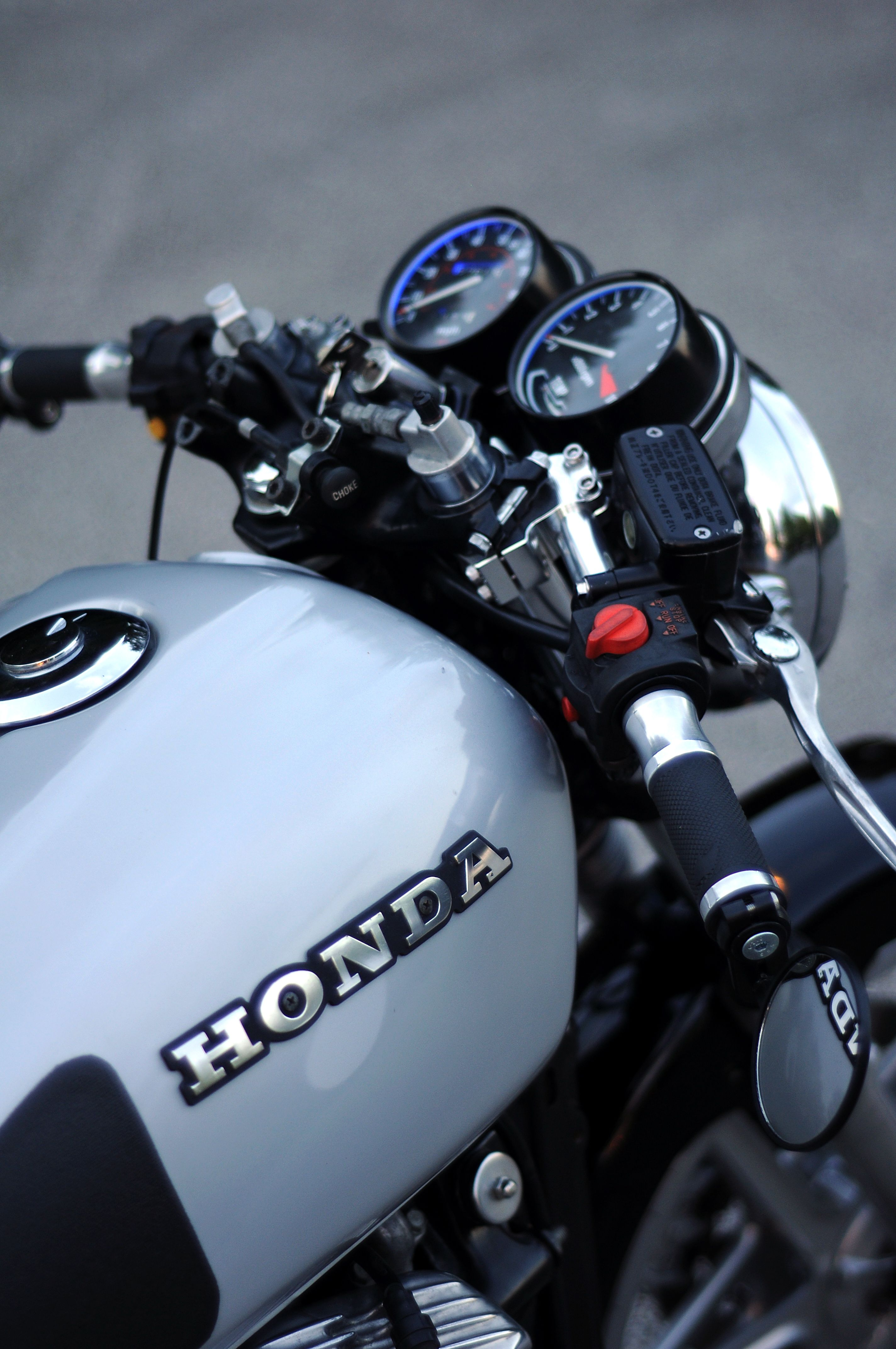 This Is A Great Setup For The Clip Ons GL500 Cafe Racer