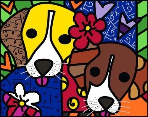 Romero Britto at Pop / Romero Britto - Pop International Galleries ...