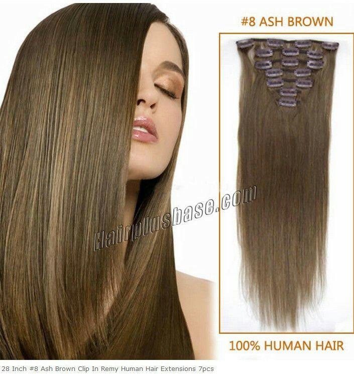 Pin by ania mc on hair 71 medium ash blonde pinterest medium virgin brazilian ash brown straight clip in by jewelheistbyandre pmusecretfo Choice Image