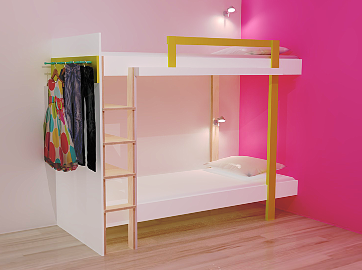 Nachtkastje voor loftbed maison design navsop