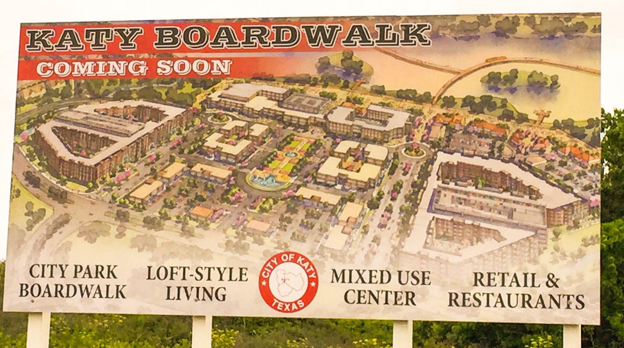 Houston tx KatyTx boardwalk coming