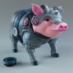 Sir Pigglesby (a most noble piggy bank) Imprimante 3d