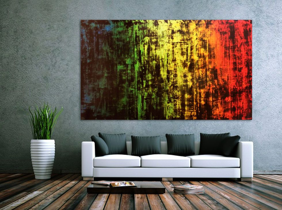 sehr grosses abstraktes acryl gemalde 115x200cm von alex zerr abstrakt abstrakte kunst auf leinwand online bestellen ein bild