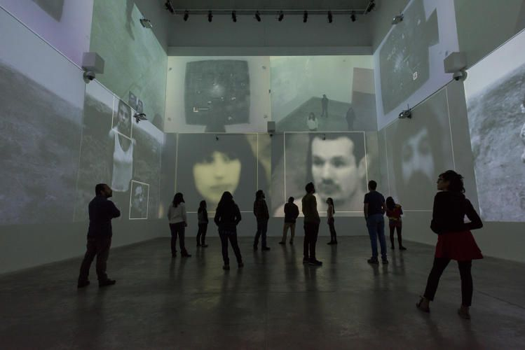 This Exhibit Uses Computerized Surveillance As Art - http://www.psfk.com/2016/06/big-brother-orwell-exhibit-computerized-surveillance-as-art.html