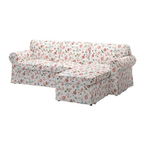 Ektorp Bezug 2er Sofa Mit Récamiere Ikea Leicht Sauber Zu Halten