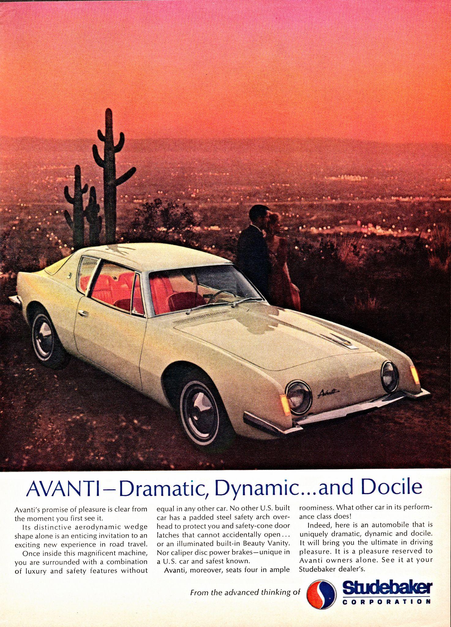 1963 studebaker avanti vintage trucks vintage ads old ads