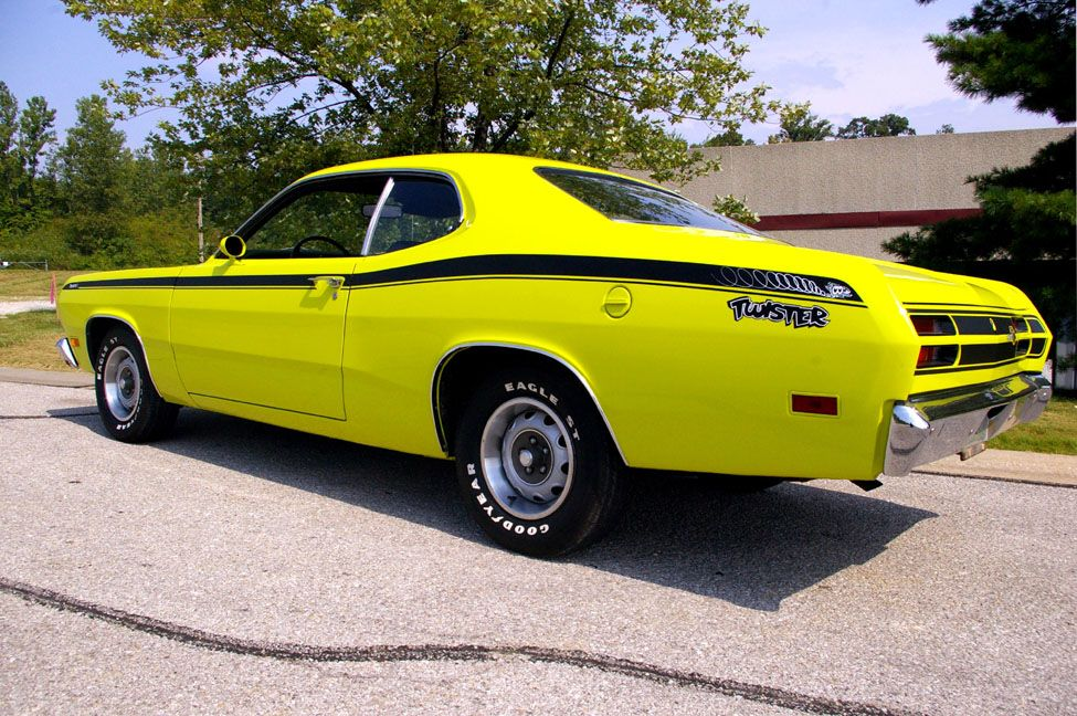 Curious Yellow 1971 Plymouth Duster Twister Plymouth Muscle Cars Classic Cars Muscle Mopar Muscle Cars