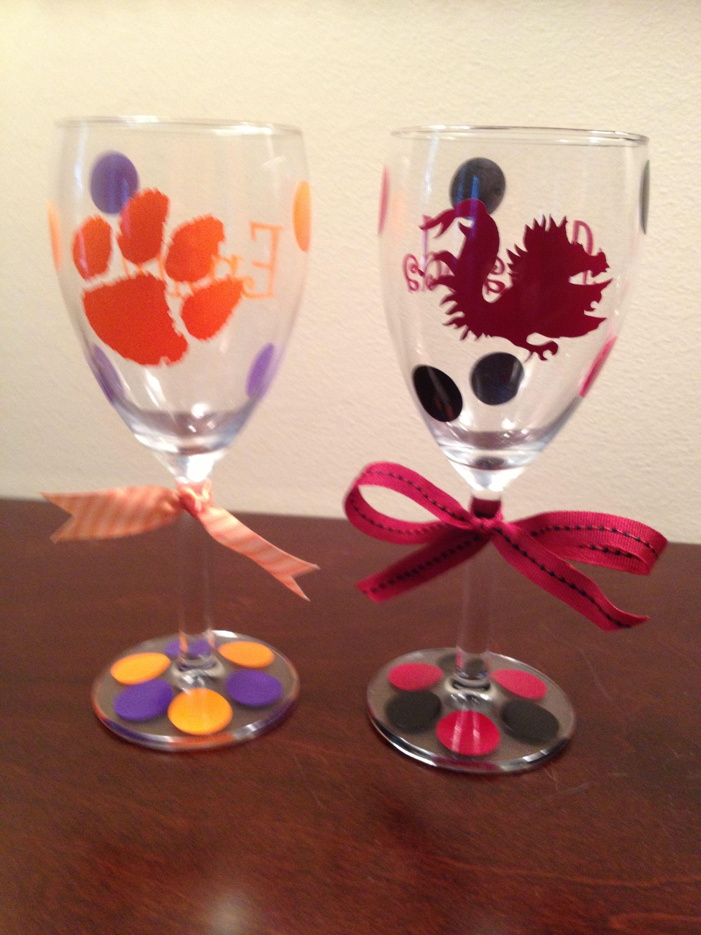 Wine Glasses Wine Glass Crafts Decorated Wine Glasses Bottle Crafts