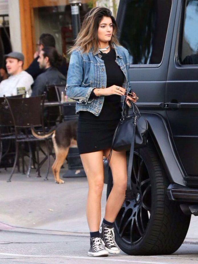 Queen woollahra black bodycon dress with jean jacket ever geraldton