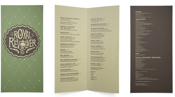45 Remarkable Food & Drink Menu Designs | Restaurant menu design ...