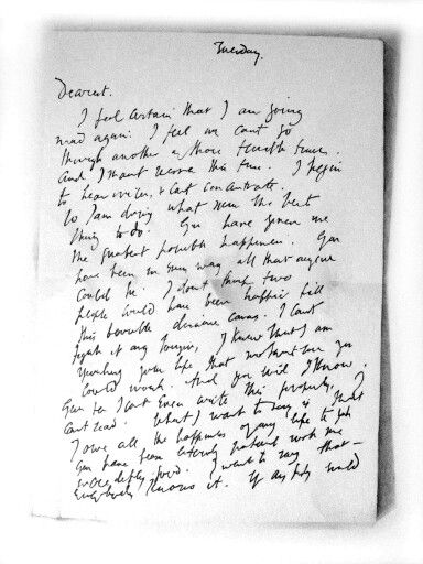 Virginia WoolfS Goodbye Letter To Her Husband Leonard  March