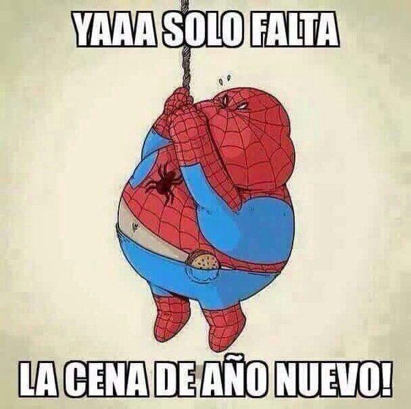 Ya Solo Falta La Cena De Ano Nuevo Memes Humor Funny