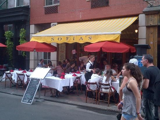 Sofia S Of Little Italy Restaurant Reviews New York City