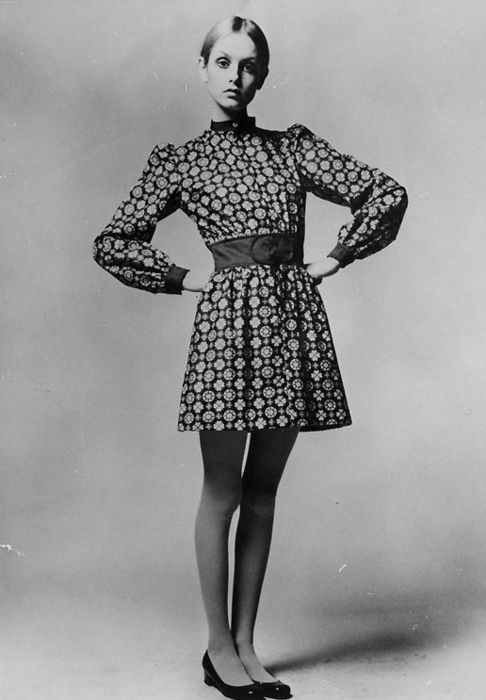 twiggy 1960s mod vintage fashion, Twiggy style, Twiggy hair