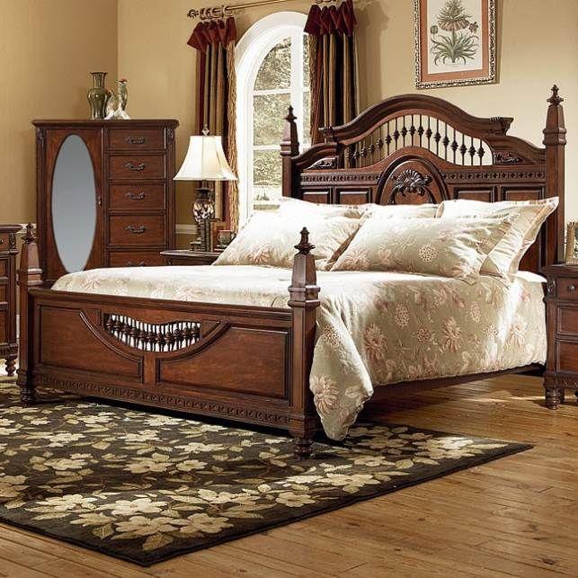 sumter-cherry-bedroom-furniture.jpg (643×643) | CAMAS ANTIGUAS ...