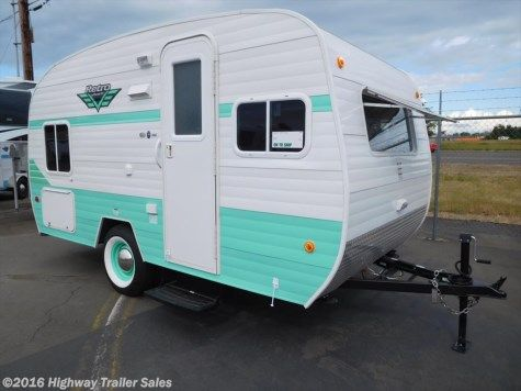 New 2017 Riverside Rv White Water Retro 166 For Sale By Highway Trailer Sales Available In Salem Or Retro Campers For Sale Retro Travel Trailers Retro Campers