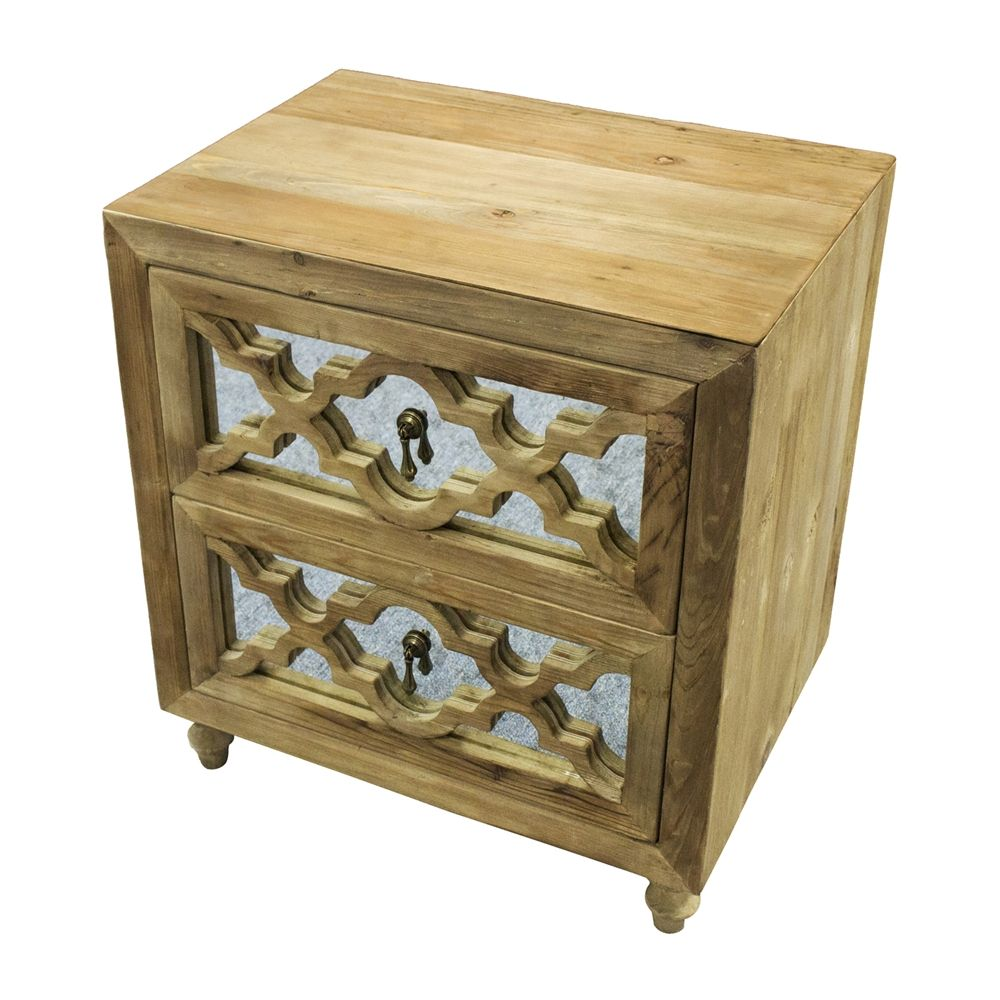Shop MOTI 41014001 Syracuse Small Chest/Bedside Table at