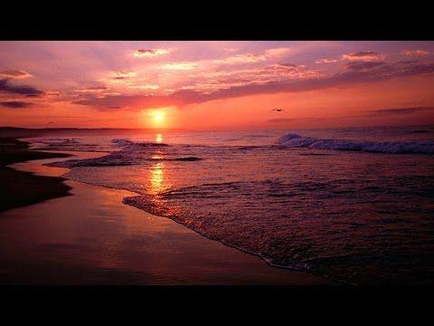 Música Para Dormir Con Vídeo Relajante Azul Oscuro Con Mar Y Luna