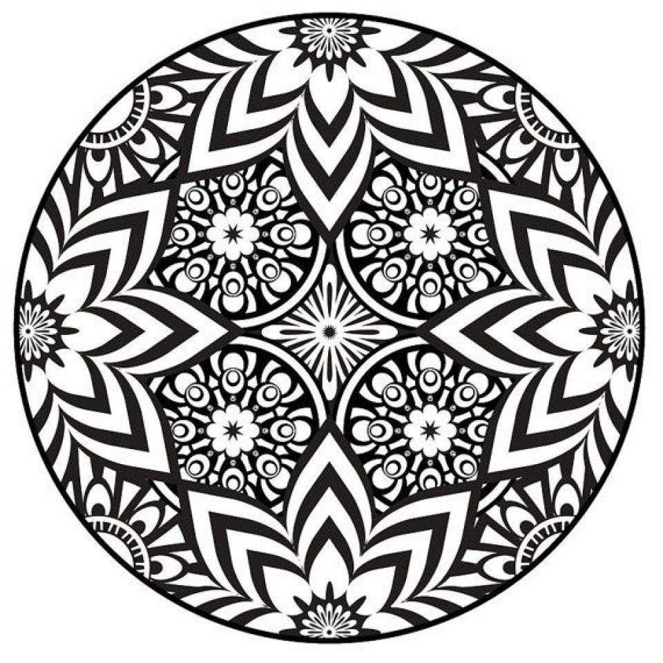 Flower Mandala Coloring Pages | Mandala coloring pages ...