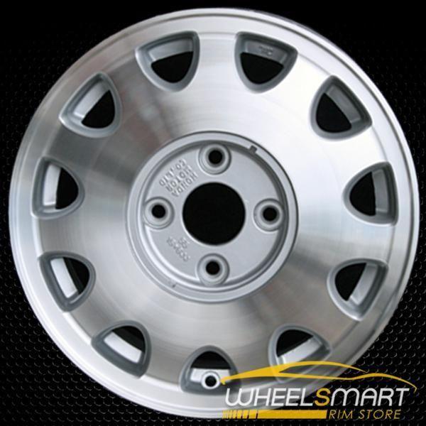 "15"" Acura Vigor OEM Wheel 1992-1994 Silver Alloy Stock Rim"