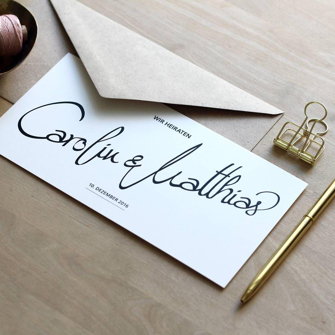 Hochzeitseinladung INK