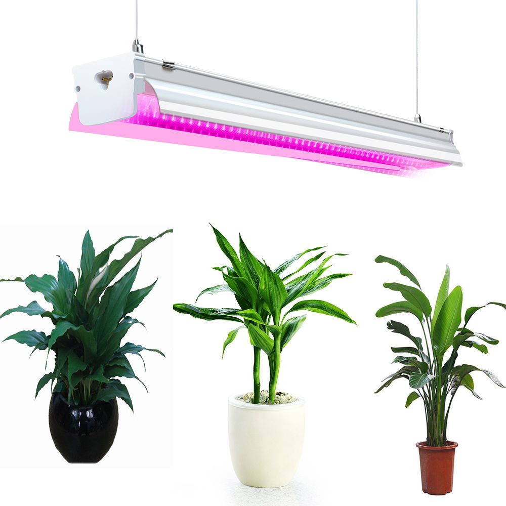 Grow Light Plant Lamp Indoor Grow Lighting Fixture 2ft 4 Ft Led