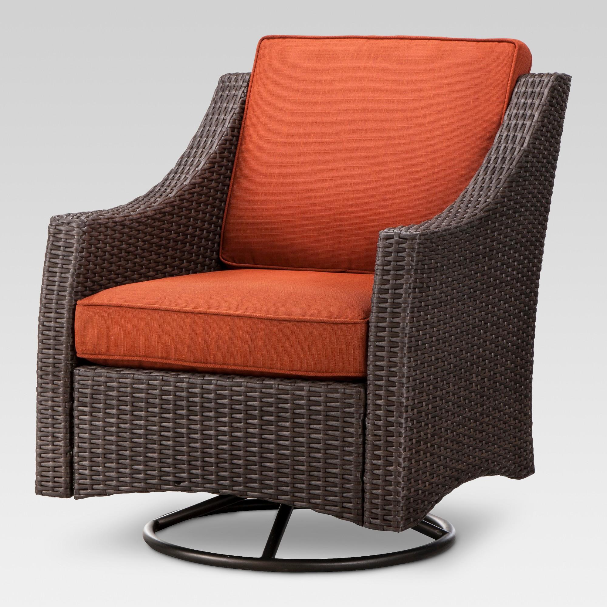 patio swivel rocker chairs retro dining gumtree brisbane belvedere wicker club chair orange threshold