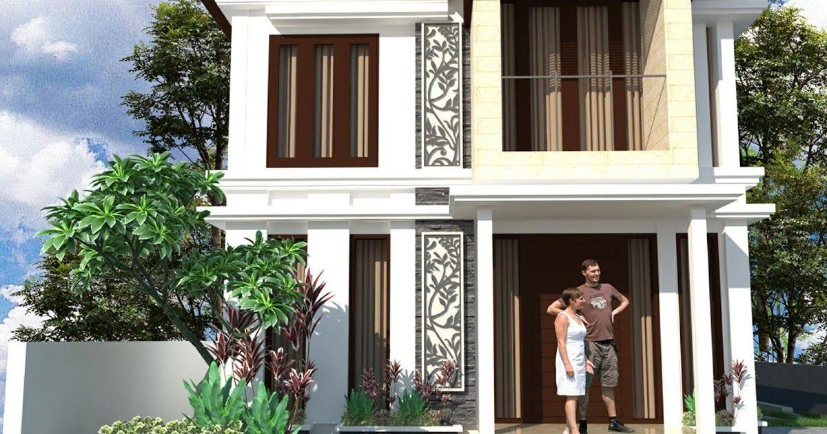 Desain Rumah Minimalis 2 Lantai Lahan Sempit Di 2020 Rumah Minimalis Desain Eksterior Desain Rumah