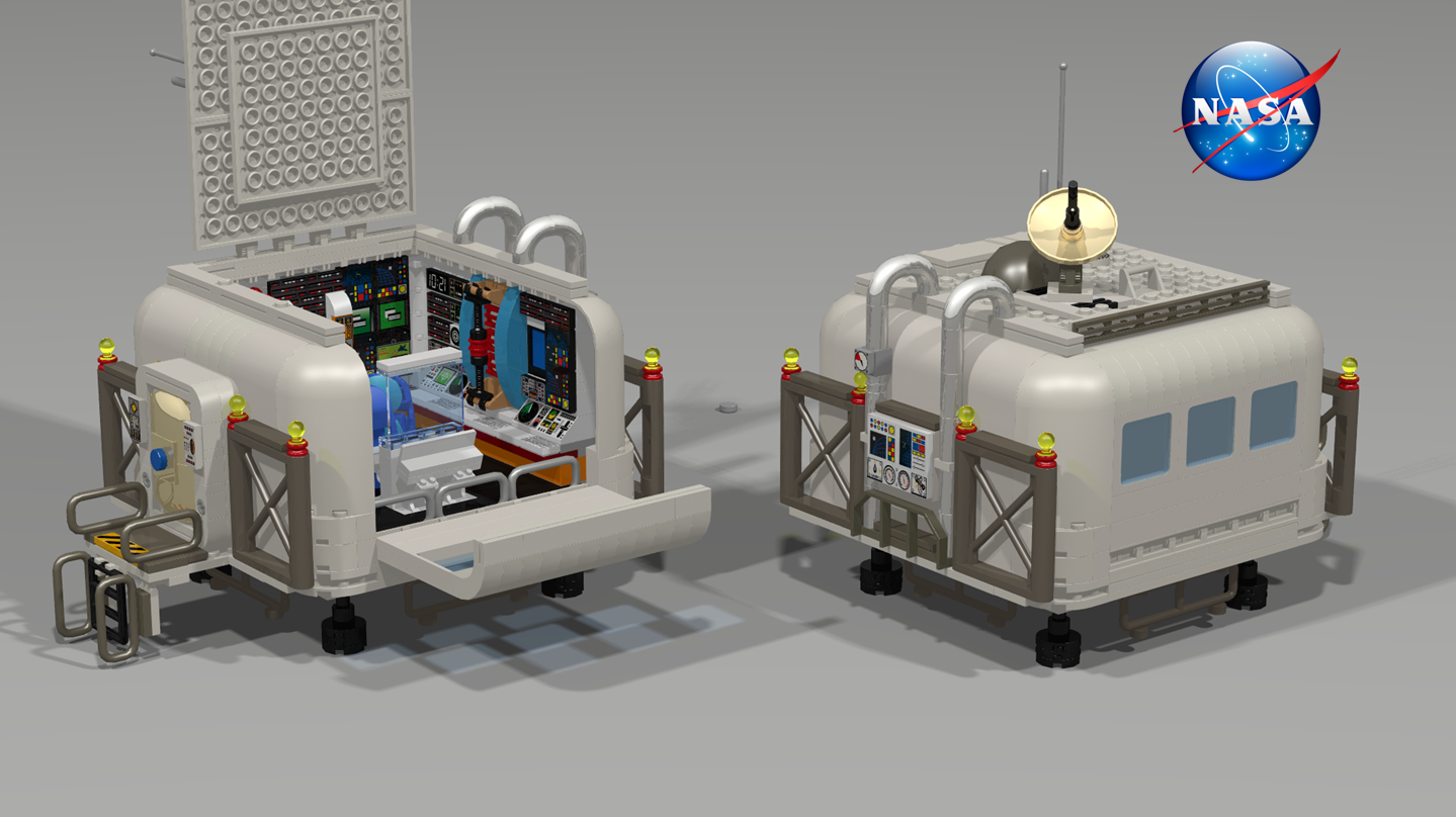 MARS BASE (Modular with interiors)
