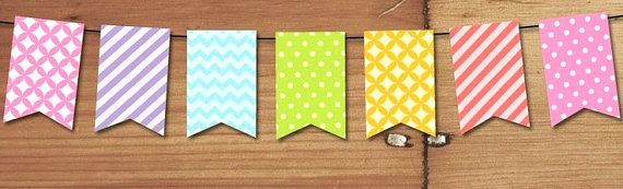 Custom Bunting Banner Perfect for a Birthday Party or Baby Shower or Bat Mitzvah or Cinco de Mayo or a Fiesta