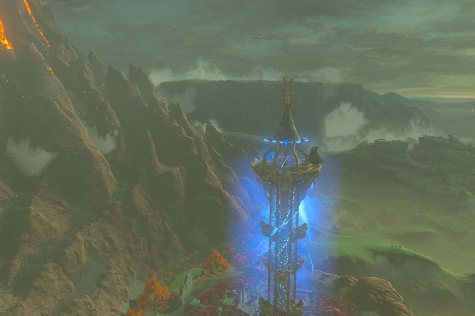 Breath Of The Wild Guide How To Climb Akkala Tower Breath Of