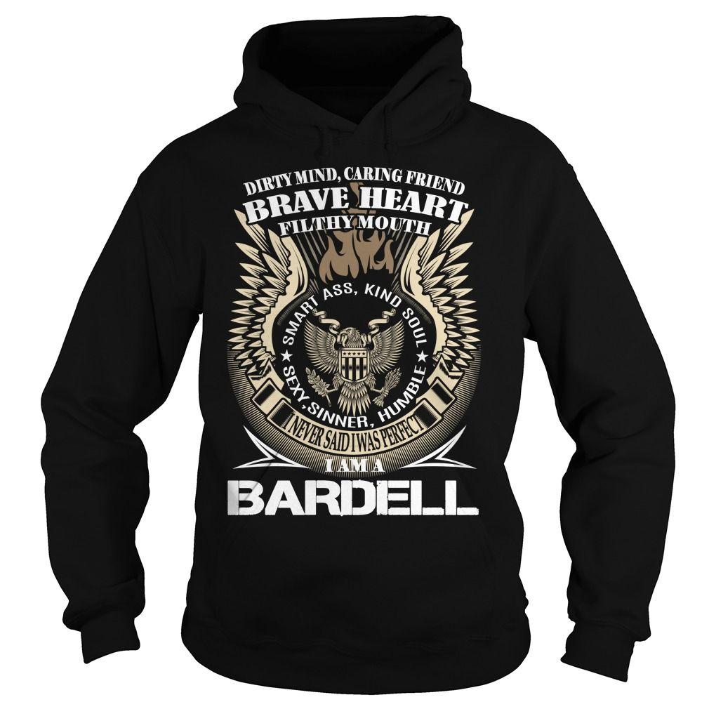 BARDELL Last Name, Surname TShirt v1